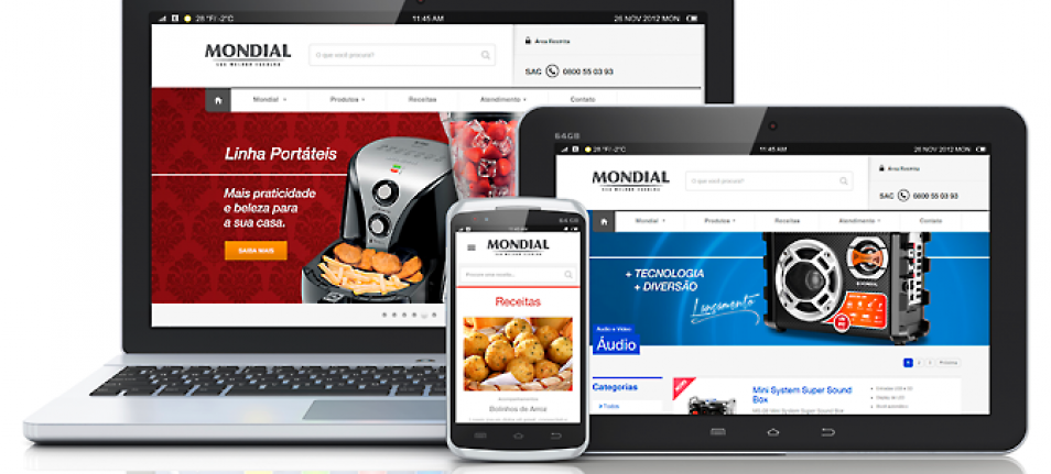 Alta Digital celebra site inteligente da Mondial