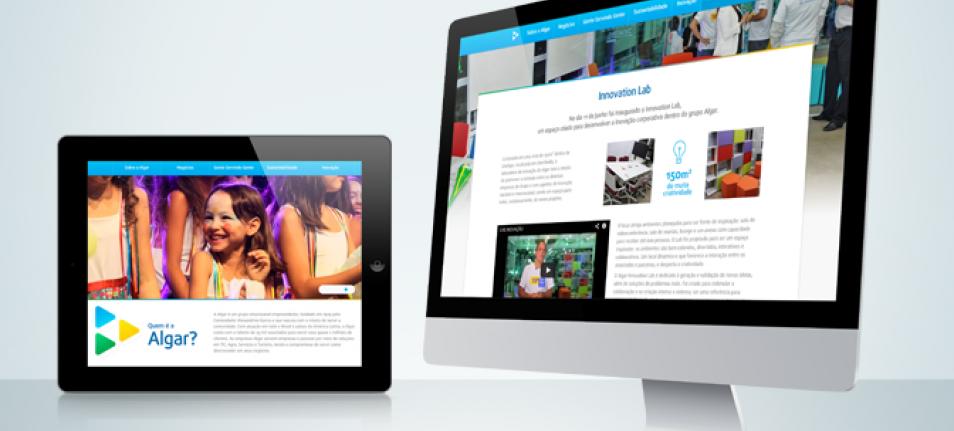 Digialta desenvolve novo site totalmente integrado para o Grupo Algar