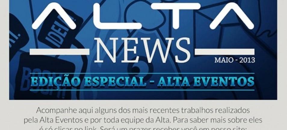 Alta dispara News Edição Especial Alta Eventos
