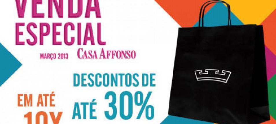 Cores marcam a campanha de Venda Especial Casa Affonso