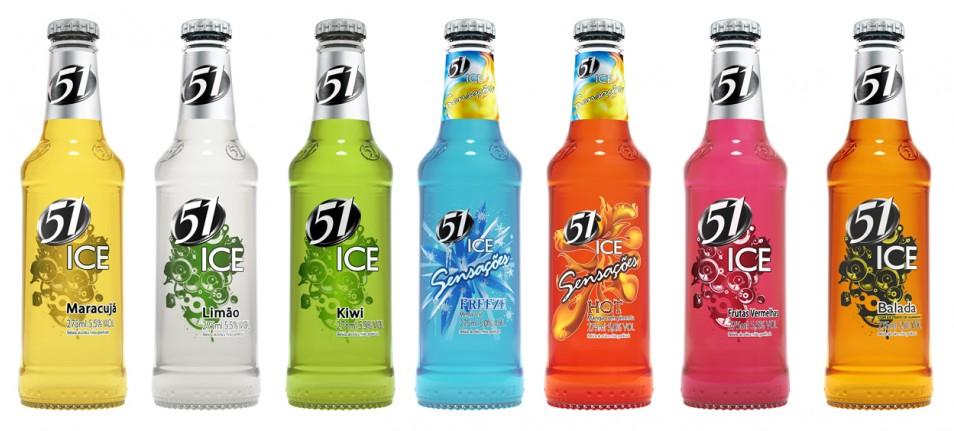 Equipe Alta desenvolve 3D das garrafas e latas 51 Ice