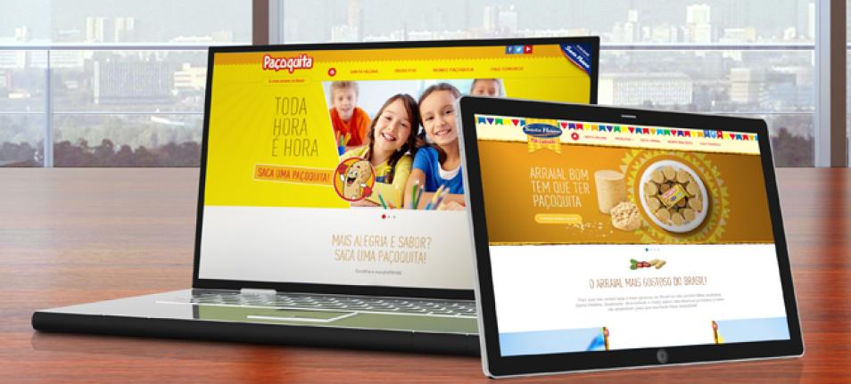 """Paçoquita e """"Sua Festa Junina"""" com novos hotsites desenvolvidos pela Alta Digital"""