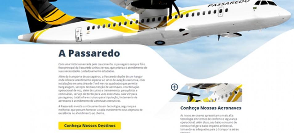 Alta Digital e Passaredo embarcam no projeto Mídia On Board