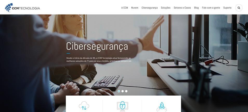 Alta Comunicazione desenvolve novo site da CCM Tecnologia