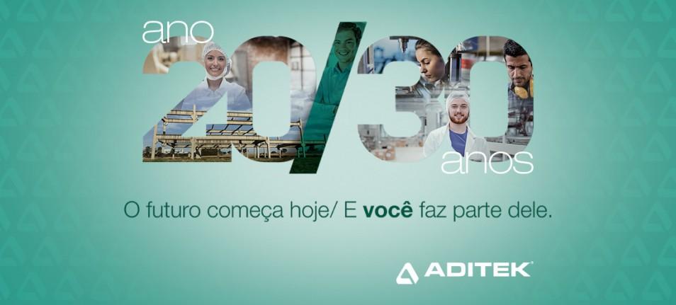 Alta cria campanha de 30 anos da Aditek