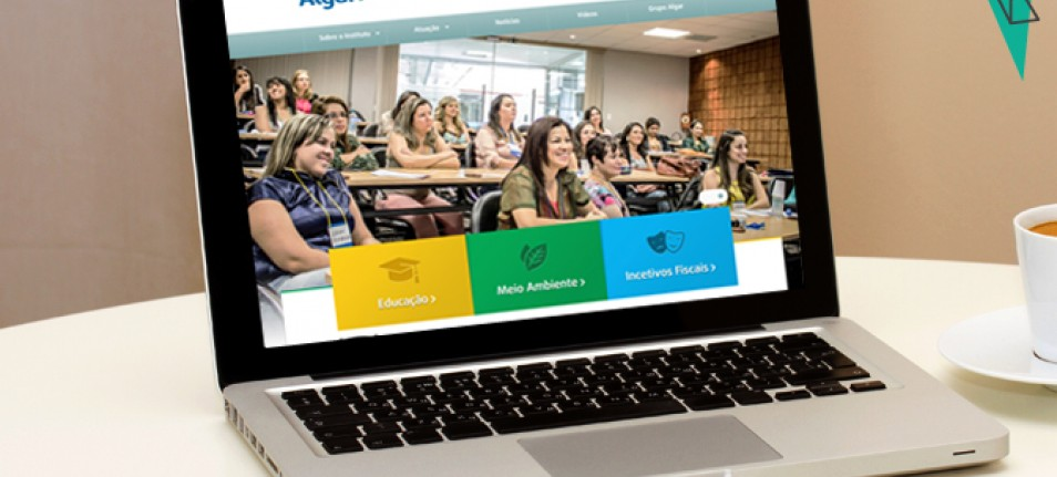 Alta Digital desenvolve site para Instituto Algar