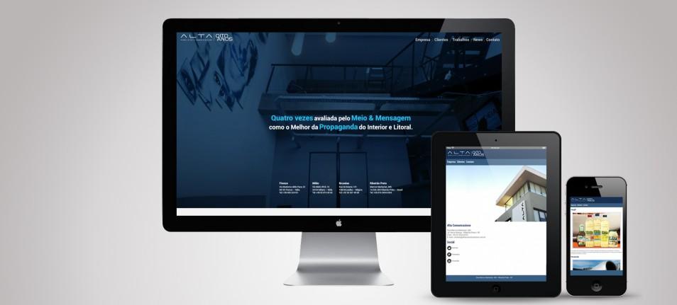Alta Comunicazione com novo site no ar