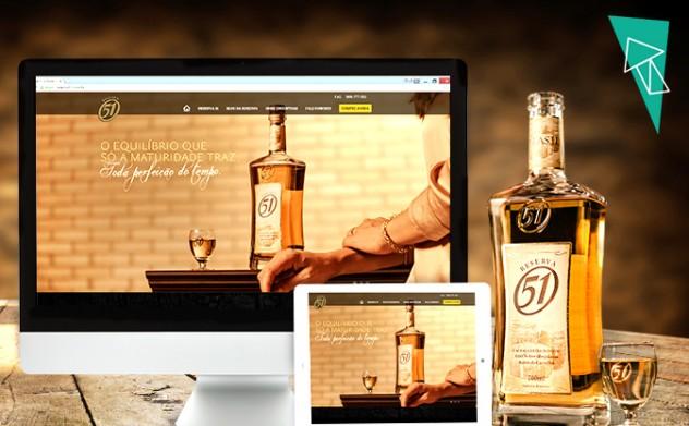 Digialta desenvolve site e projeto de vídeos para a cachaça Reserva 51