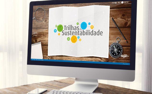 Alta desenvolve site Trilhas da Sustentabilidade do Instituto Algar