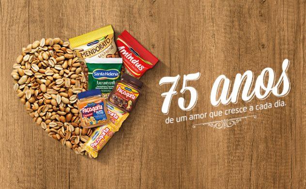 Santa Helena festeja 75 anos como referência brasileira no mercado do amendoim